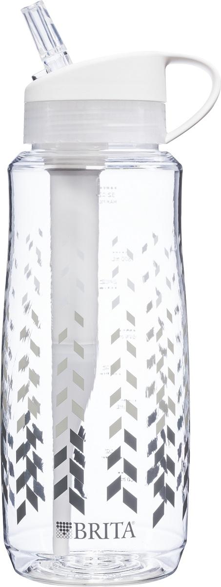 Brita 1L Chevron hard sided filtered bottle (unlabelled)