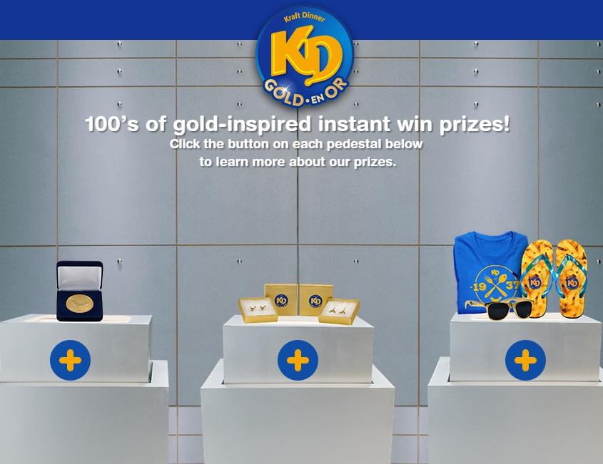 KD Golden Noodle Prizes DoTheDaniel