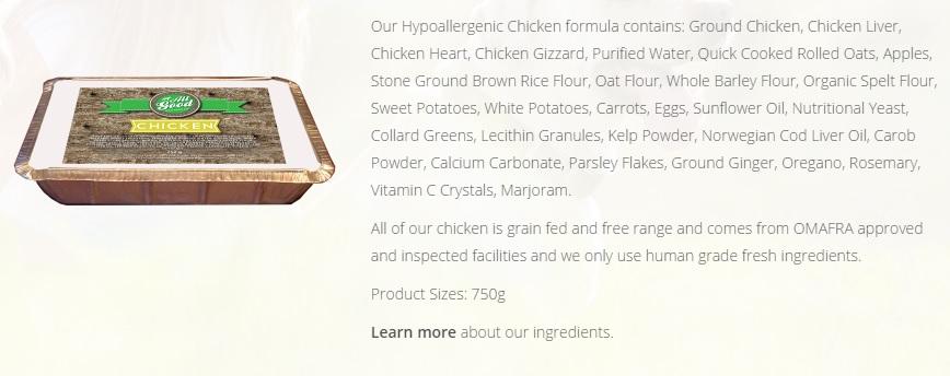 #HealthyFoodHealthyDog All Good Dog Food Co. DoTheDaniel Chicken