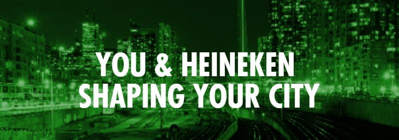 #ShapeYourCity Heineken Canada DoTheDaniel.com Banner