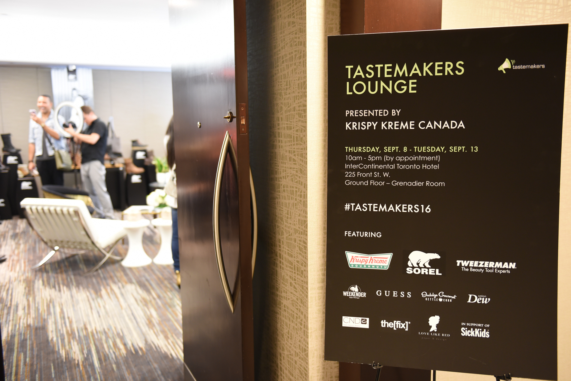 Tastemakers 2016 Lounge Courtesy Use Central Image Agency CentralimageAgency@icloud.com