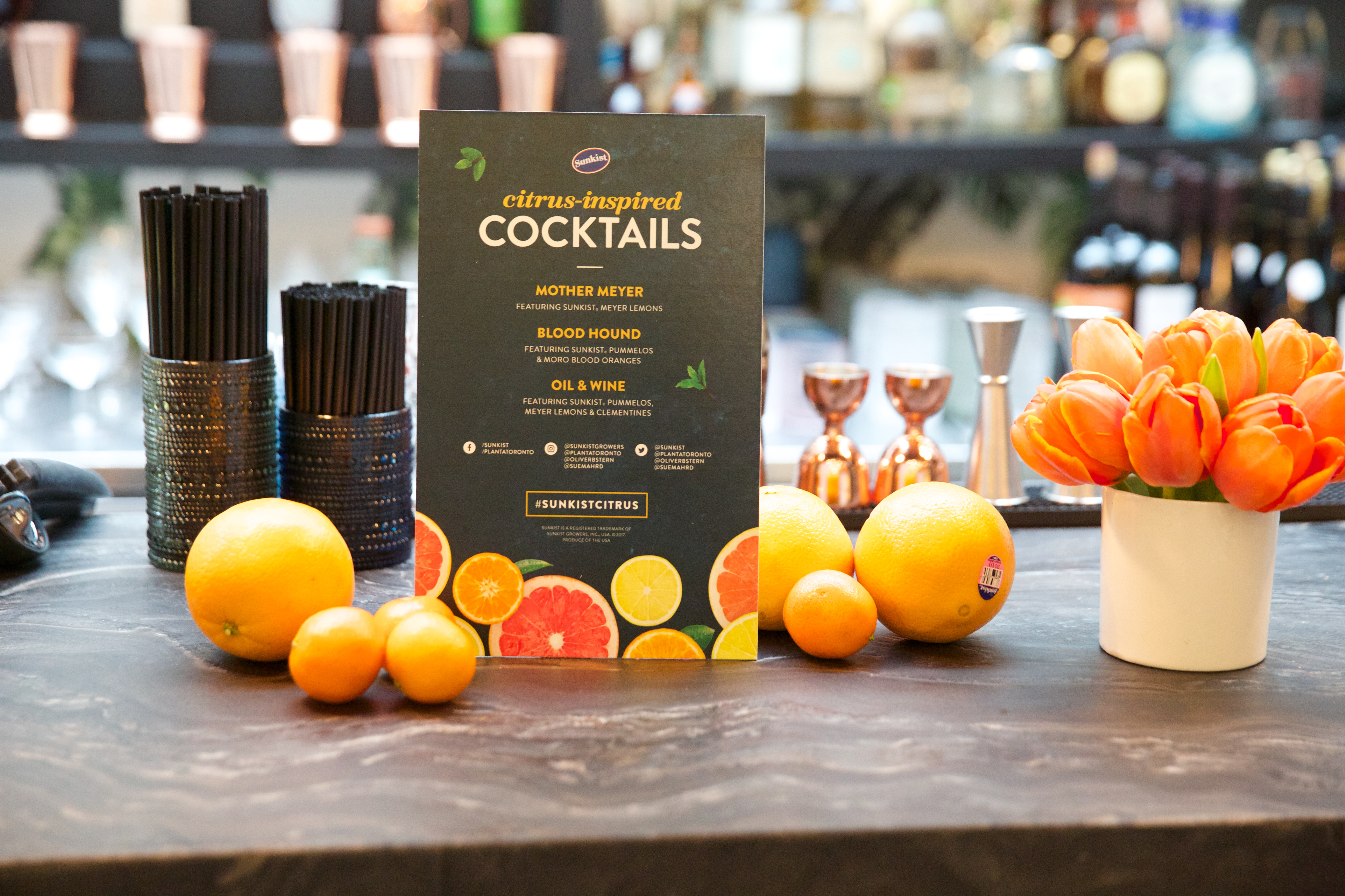 A Feast For The Senses In Partnership With Sunkist Do
